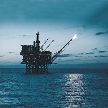 Oil & Gas | Platform (duotone)