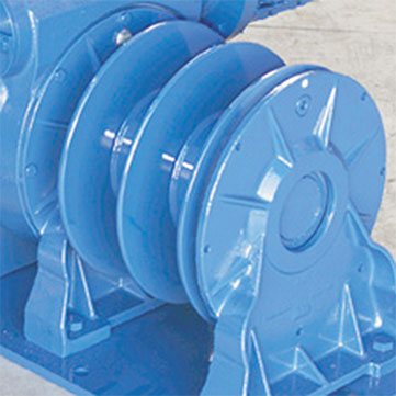 Winch option | Drum divider flange