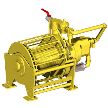 OAW 5.0 GP10 | 5 ton pneumatic winch