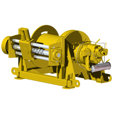 OAW 7.5 GP16 | 10 ton pneumatic winch